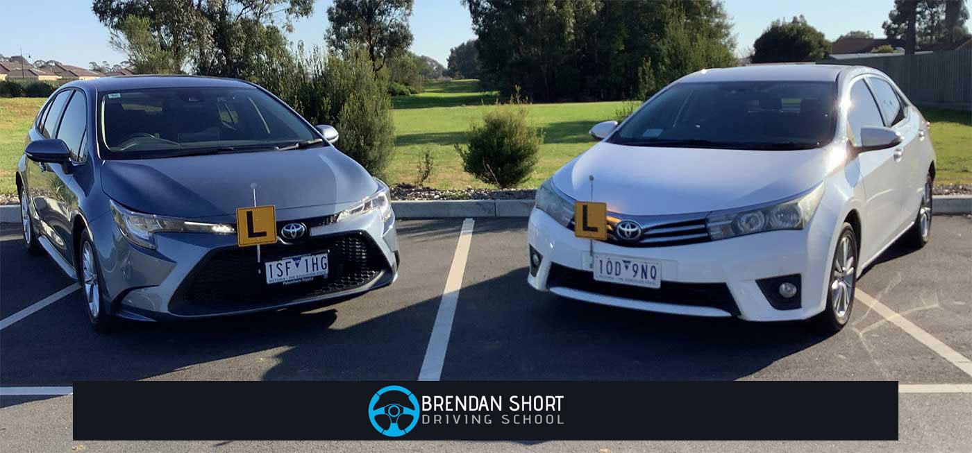 Brendan Short Driving School Vehicles